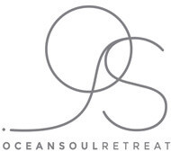 Ocean Soul Retreat Logo, Bali surf and yoga school for women