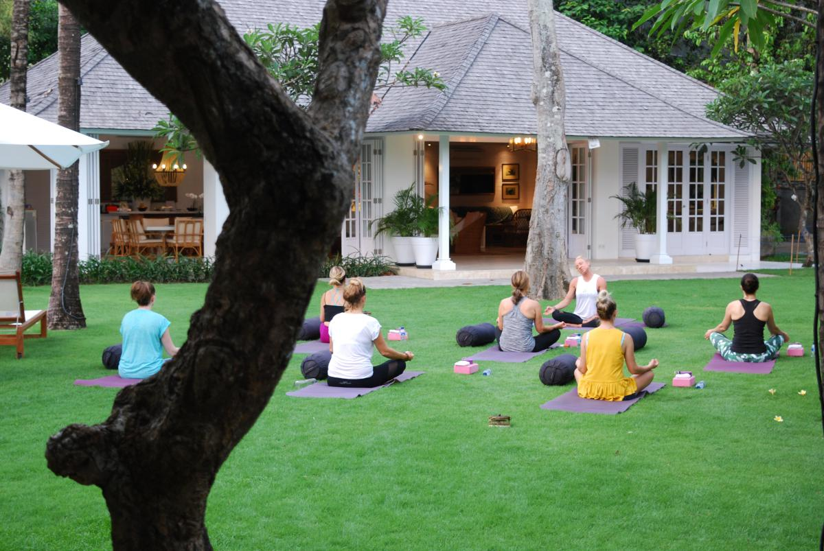 How Yoga Helps You Come Home to Yourself, Yoga session in Bali for women